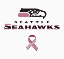 Seattle Seahawks Breast Cancer Shirt T-Shirt