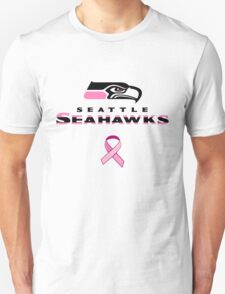 Seattle Seahawks Breast Cancer Shirt T-Shirt