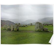 Castlerigg Stone Circle, Cumbria  Poster