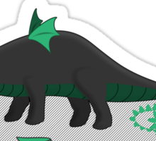 Dinosaurs love to cosplay Sticker