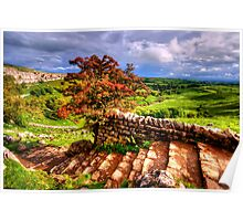Malham Cove, Yorkshire Dales Poster