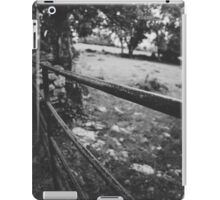 Black & White countryside iPad Case/Skin