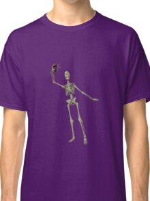 SKELETON SELFIE FULL BODY Classic T-Shirt