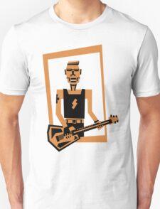 hard rock / heavy metal  guitar player T-Shirt