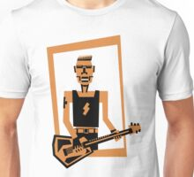 hard rock / heavy metal  guitar player Unisex T-Shirt