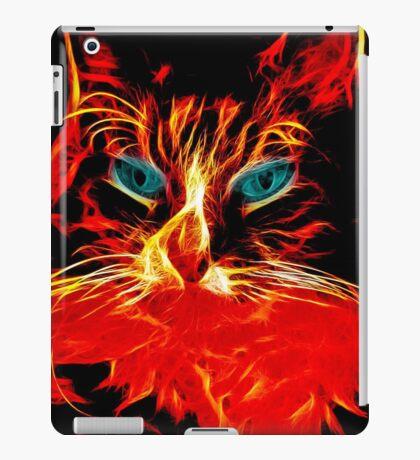 Fire Kitty iPad Case/Skin
