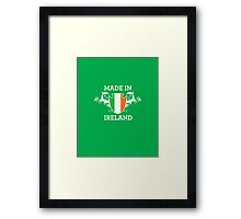 Made in Ireland Framed Print