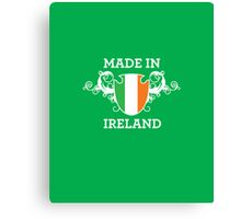 Made in Ireland Canvas Print