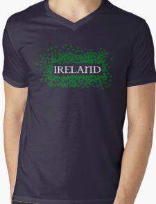Ireland Shamrocks Mens V-Neck T-Shirt