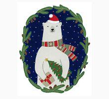 Polar bear with Christmas tree T-Shirt