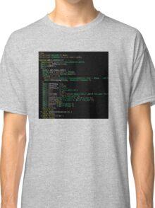 Php Code Graphic T-shirt Classic T-Shirt