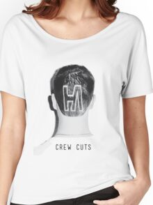 Hoodie Allen CREW CUTS 2014 [Black/White] Women's Relaxed Fit T-Shirt