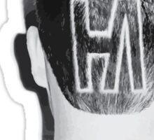 Hoodie Allen CREW CUTS 2014 [Black/White] Sticker