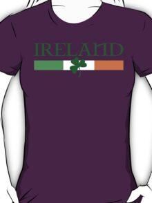 Ireland Flag, shamrock T-Shirt