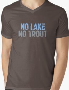 The Wire - No Lake, No Trout Mens V-Neck T-Shirt