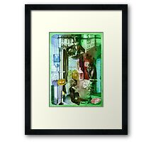 The  Magic Trick. Framed Print