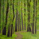 Spring  forest by maggie326