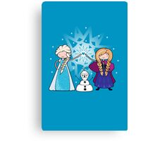Sister Time Canvas Print