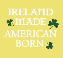 Ireland Made, American Born One Piece - Short Sleeve