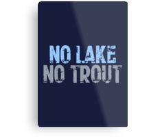 The Wire - No Lake, No Trout Metal Print