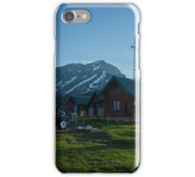 Mountain Cottage  iPhone Case/Skin