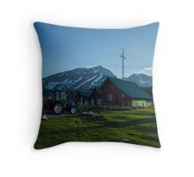 Mountain Cottage  Throw Pillow