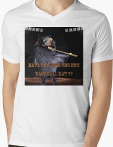 Baseball Bat Mens V-Neck T-Shirt