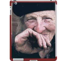 Portraits : BEST Honor Marie kindest of Mary... version 4 paint  color  collector  1977 4  (c)(t) by Olao-Olavia / Okaio Créations iPad Case/Skin