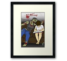 Silly Mommy Framed Print