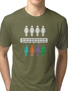 And the colored girls go... Tri-blend T-Shirt