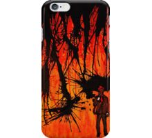 Gas Mask Suit  iPhone Case/Skin