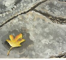 Fallen Leaf by jazkempshall
