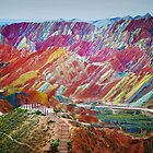 RAINBOW MOUNTAINS - CHINA by elmerfud