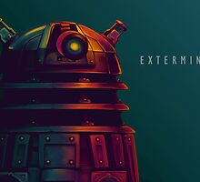 dalek exterminate  by fhtamim