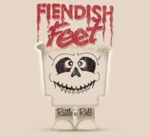 Fiendish Feet Rattle 'n' Roll by Indestructibbo