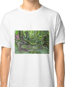 Abstract art from Nature - currents Classic T-Shirt