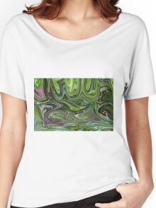 Abstract art from Nature - currents Women's Relaxed Fit T-Shirt