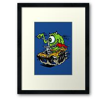 Mike's Ride Framed Print