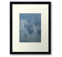 I Saw An Angel In The Sky Framed Print
