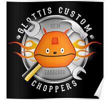 Glottis Custom Choppers Poster