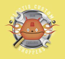 Glottis Custom Choppers Kids Tee