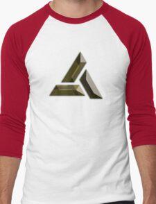 Abstergo Industries Men's Baseball ¾ T-Shirt
