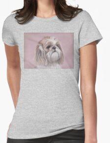 LuLu the Shihtzu Womens Fitted T-Shirt