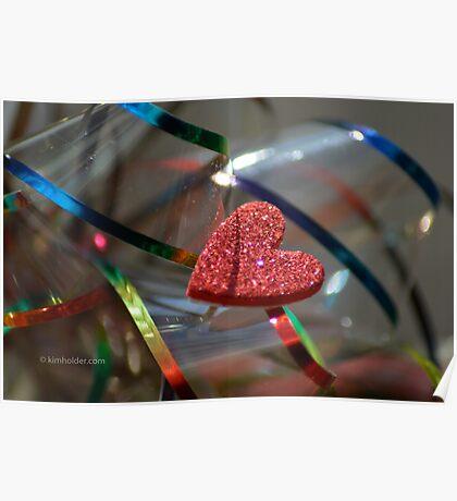 Ribbon Around My Heart Poster