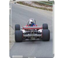British hill climb racing car iPad Case/Skin