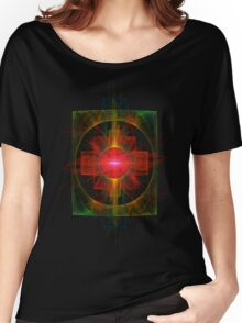 Nuclear Reactor; Rainbows and Imprisonment Women's Relaxed Fit T-Shirt