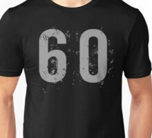 Cool Grunge 60th Birthday T-Shirt Unisex T-Shirt