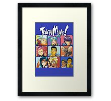 The Tenchi Bunch Framed Print