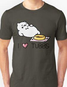 Neko Atsume - I Heart Tubbs T-Shirt