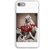 English pride iPhone Case/Skin